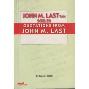 John M. Last'tan Sözler / Quotations From John M. Last