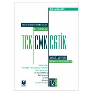 T.C. Anayasası TCK, CMK, CGTİK ve İlgili Mevzuat (Orta Boy)
