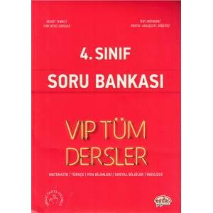 Editör 4. Sınıf Vip Tüm Dersler Soru Bankası Kırmızı Kitap Yeni