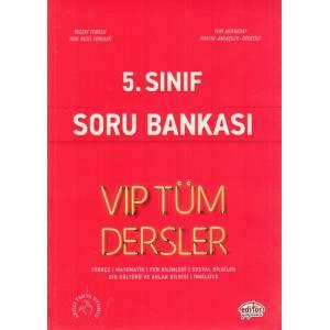 Editör 5. Sınıf Vip Tüm Dersler Soru Bankası Kırmızı Kitap Yeni