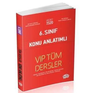 Editör 6. Sınıf Vip Tüm Dersler Konu Anlatımlı Kırmızı Kitap Yeni