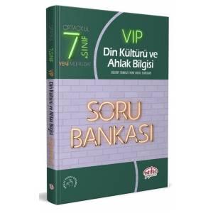 Editör 7. Sınıf Vip Din Kültürü Ve Ahlak Bilgisi Soru Bankası Yeni