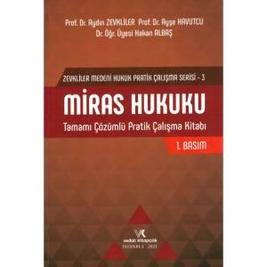 Miras Hukuku Tamamı Çözümlü Pratik Çalışma Kitabı