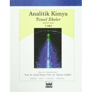Analitik Kimya Temel İlkeler - 1.cilt