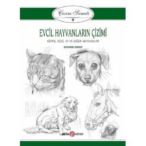 Evcil Hayvanların Çizimi / Çizim Sanatı 9
