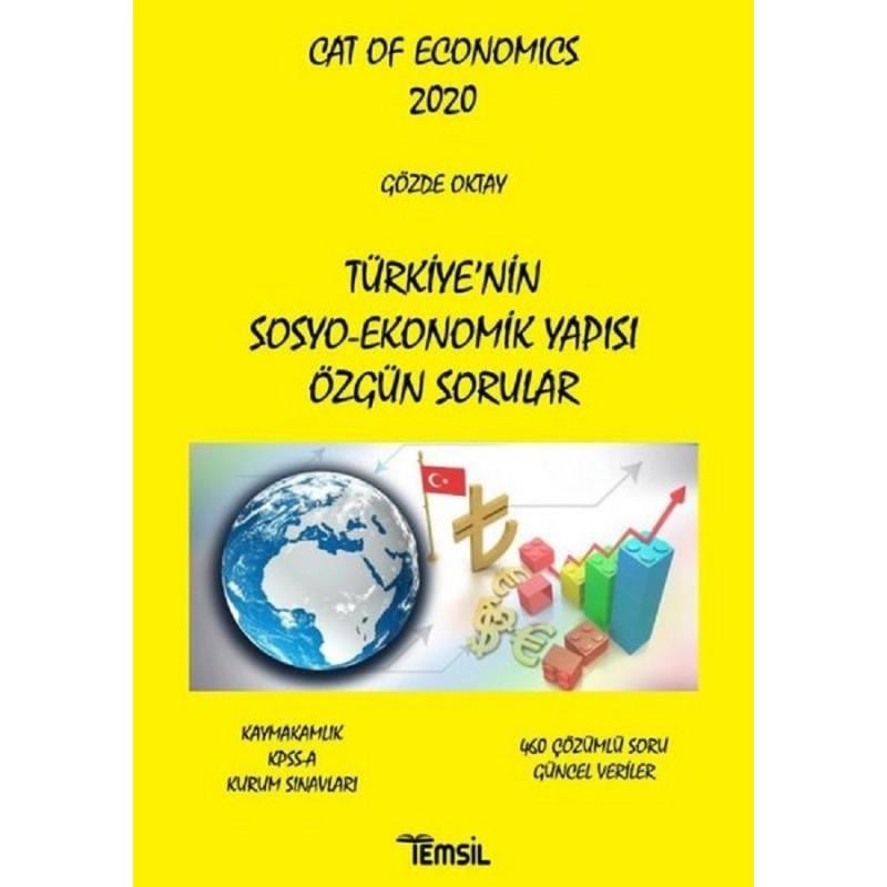 Türkiye'nin Sosyo-Ekonomik Yapısı Özgün Sorular / Cat Of Economics 2020