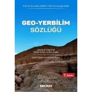 Geo – Yerbilim Sözlüğü Jeoloji & Coğrafya Temel Terim Ve Kavramlar