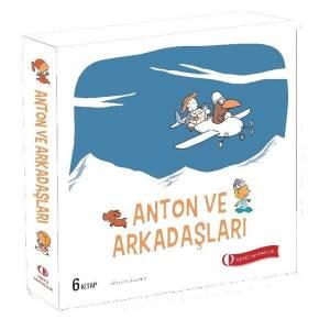 Anton ve Arkadaşları-6 Kitap Takım