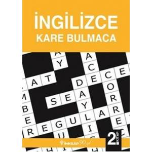 İngilizce Kare Bulmaca 2.kitap