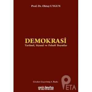 Demokrasi :tarihsel , Siyasal Ve Felsefi Boyutlar