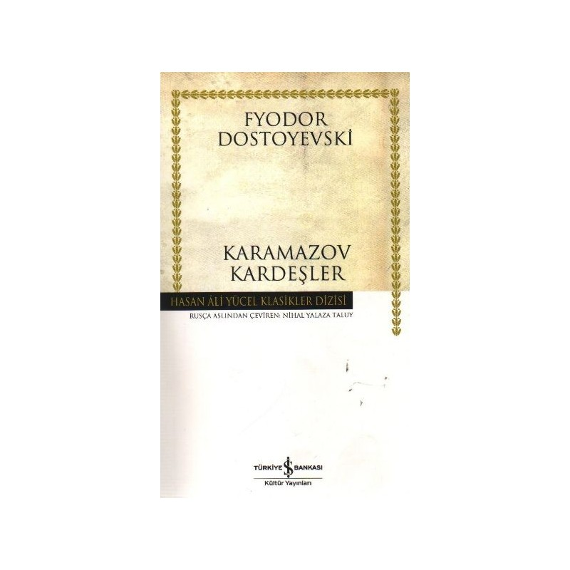 Karamazov Kardeşler Hasan Ali Yücel Klasikleri