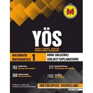 Metropol Yös Matematik 1 Konu Anlatımlı Yeni