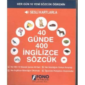 40 Günde 400 İngilizce Sözcük - Sesli Kartlarla