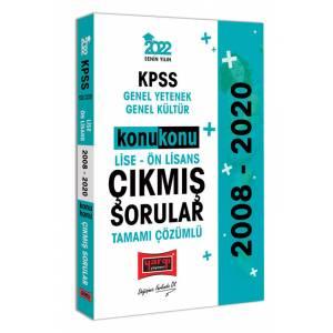 Yargı Yayınları 2022 KPSS GY GK Lise Ön Lisans Konu Konu Tamamı Çözümlü Çıkmış Sorular