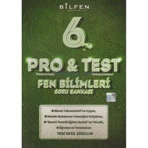 6.Sınıf Fen Bilimleri Pro&Test Soru Bankası