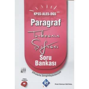 KPSS DGS ALES Türkçenin Şifresi Paragraf Soru Bankası Video Çözümlü