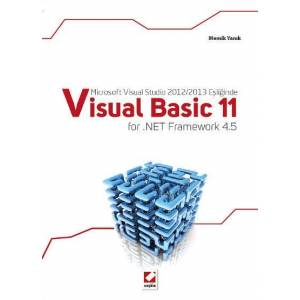 Microsoft Visual Studio 2012/2013 Eşliğindevisual Basic 11 For .net Framework 4.5