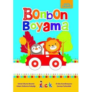 Bonbon Boyama - Okul Öncesi