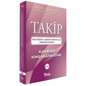 Temsil Yayınları 2021 TAKİP İcra Müdürlüğü ve Yardımcılığı Alan Bilgisi Konu Anlatım