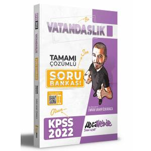 022 KPSS Vatandaşlık Tamamı Çözümlü Soru Bankası