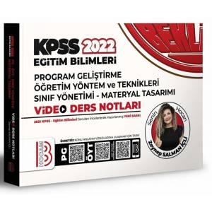 2022 KPSS Eğitim Bilimleri Program Geliştirme Öğretim Yöntem ve Teknikleri Video Ders Notları