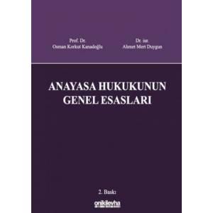 Anayasa Hukukunun Genel Esasları