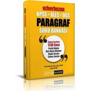 2021 Kpss Ales Dgs Ezberbozan Paragraf Soru Bankası