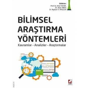 Bilimsel Araştırma Yöntemleri Kavramlar – Analizler – Araştırmalar