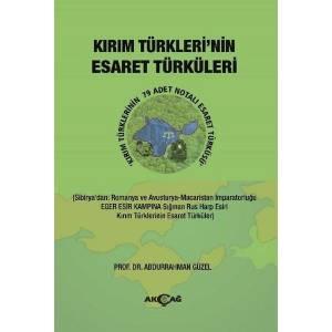 Kırım Türklerinin Esaret Türküleri
