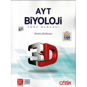 3D Ayt Biyoloji Soru Bankası Yeni