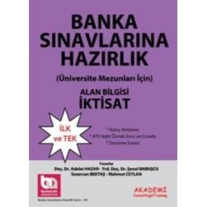 Banka Sınavlarına Hazırlık Alan Bilgisi İktisat