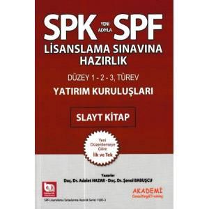 Spk Spf Yatırım Kuruluşları Slayt Kitap