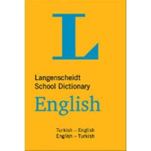Langenscheidt School Dictionary English