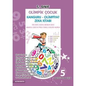 Altın Nokta 5. Sınıf Olimpik Çocuk Kanguru Olimpiyat Zeka Kitabı