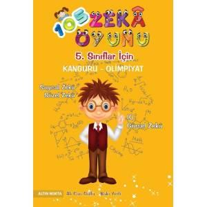 Altın Nokta 5. Sınıf 105 Zeka Oyunu Bilsem Kanguru Olimpiyat Kitabı