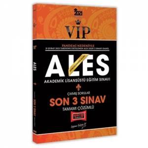ALES VIP Son 3 Sınav Tamamı Çözümlü Çıkmış Sorular
