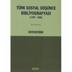 Türk Sosyal Düşünce Bibliyografyası 1729 1928