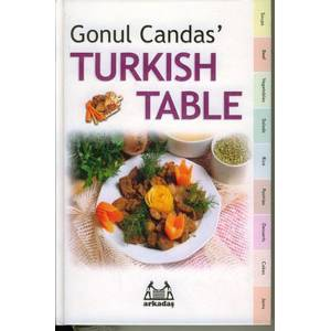 Gonul Candas Turkish Table Ciltli