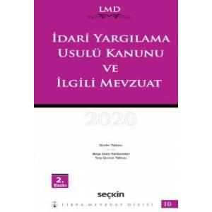 Libra Mevzuat Dizisi – 10 İdari Yargılama Usulü Kanunu Ve İlgili Mevzuat