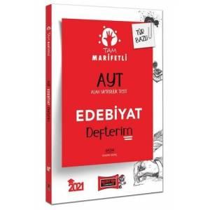 Yargı Yayınları 2021 Ayt Tam Marifetli Edebiyat Defterim