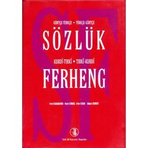 Sözlük Ferheng Kürtçe - Türkçe - Kurdi - Tırki
