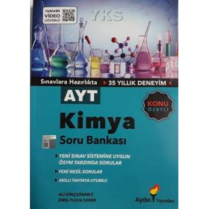 Aydın Ayt Kimya Soru Bankası Yeni