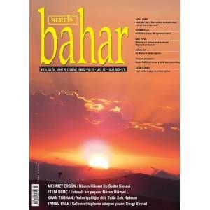 Berfin Bahar Dergisi Sayı 203 Ocak 2015