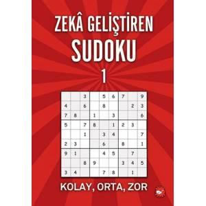 Zeka Geliştiren Sudoku 1 Kolay Orta Zor