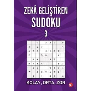 Zeka Geliştiren Sudoku 3 Kolay Orta Zor