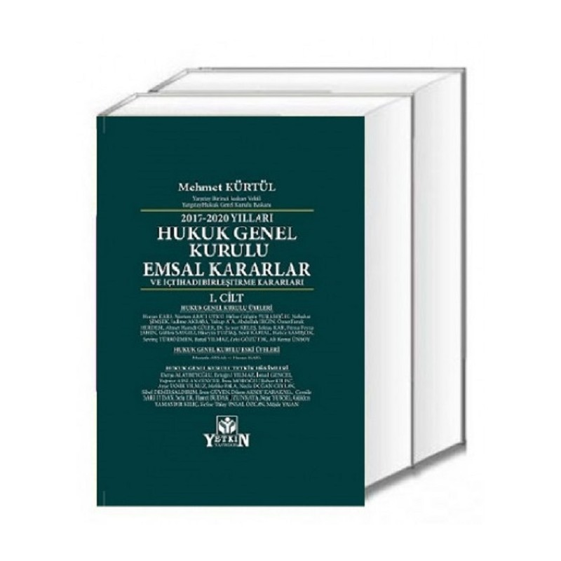 Hukuk Genel Kurulu Emsal Kararlar / 2017–2020 Yılları